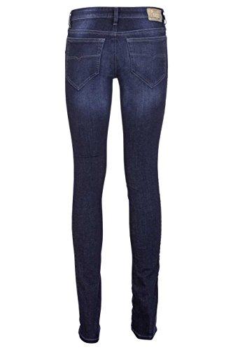 Diesel Skinzee 0R41I femme Pantalons Jeans Slim Skinny Bleu Foncé