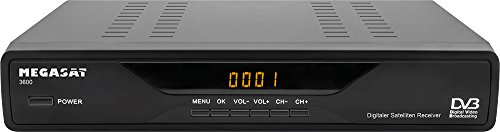 MegaSat 0201049 3600 digitaler Satelliten-Receiver