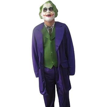 Pozxiuk Déguisement Ml Pour De Costume Tenue Joker Batman Homme 54 50 LVpGSqUzM