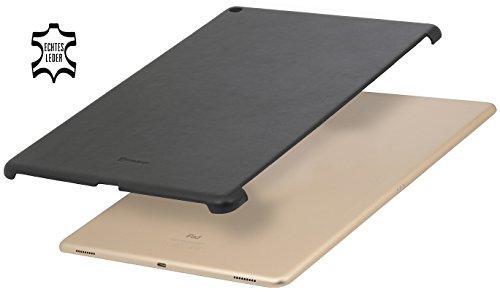 """Preisvergleich Produktbild StilGut Cover,  Hülle aus echtem Leder für Apple iPad Pro 12, 9"""",  Backcover passend auch mit Smart Keyboard,  Schwarz Nappa"""