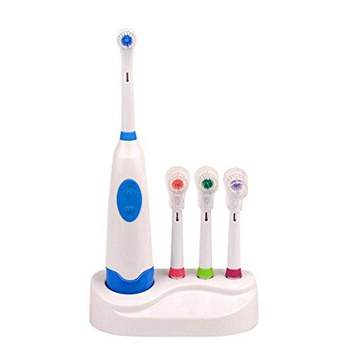 Ckeyin;Wasserdichte Elektrische Zahnbürste mit vier austauschbaren Pinselköpfe