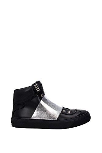 ARCHIEBLACKSILVER-Jimmy-Choo-Sneakers-Women-Leather-Black