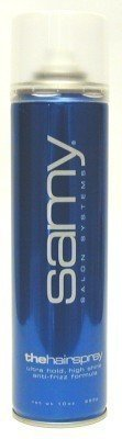Samy Hairspray Workable Hold Anti-Frizz 340 ml Aerosol (3-Pack)