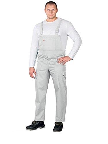 Preisvergleich Produktbild SM Arbeitslatzhose Latzhosen Latzhose Arbeitshose multifunktion Hose Arbeitskleidung versch. Farben Gr. 48-62 (54, weiß)