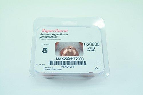 hypertherm 020605Sauerstoff Schneiden Düse für ht2000lhf/max 200Plasma Taschenlampe, 200A
