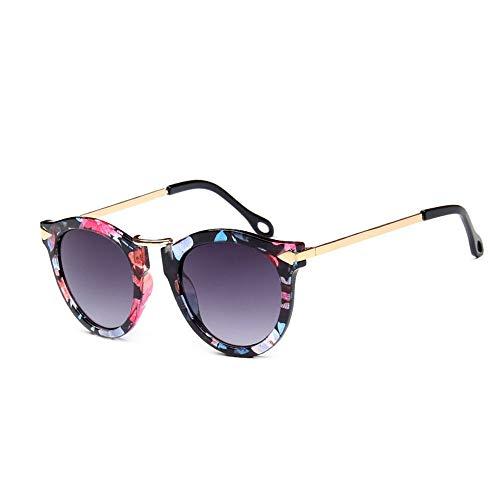 GRAZJ Herren Sonnenbrillen polarisierte Damen: Mode Metallrahmen UV 400 Schutz, Mode Brille Aviator Spiegel Objektiv Sonnenbrille (Ausgabe : Style C)