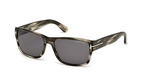 c836c868e58 Lunettes de soleil Tom Ford FT0445 C56 20A (grey other   smoke)