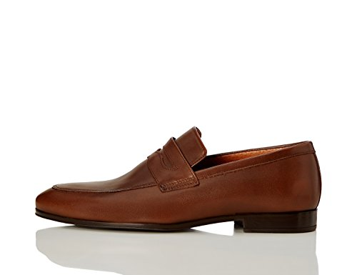 find-leather-formal-mocasines-para-hombre-marron-brown-42-eu