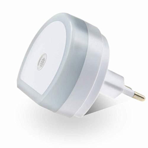JZTRADING Luz Nocturna USB Decoración de Pared Lámpara de Noche para Ni?os Luz de Noche Brillante Enchufar Sensor de luz Nocturna