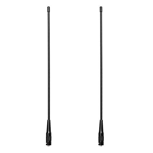 Retevis RHD771 Walkie Talkie Antena SMA F Banda Dual
