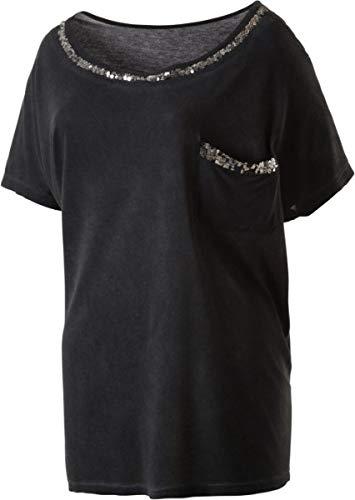 Firefly Damen T-Shirt Celine II, schwarz,44 (Damen-t-shirts Firefly)