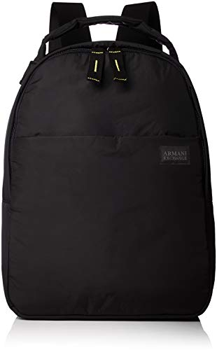 Armani Exchange - Backpacks, Mochilas Hombre, Negro (Nero), 40.0x13.5x30.0 cm (B x...