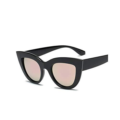 MINGW- Cat Eye Frauen Sonnenbrillen Getönte Farbe Objektiv Männer Shaped Sonnenbrille Weibliche Brillen Blaue Sonnenbrille