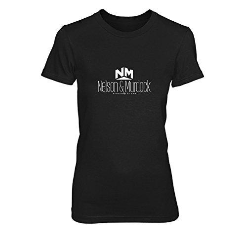 Nelson Murdock Avocados - Damen T-Shirt, Größe: XL, Farbe: schwarz