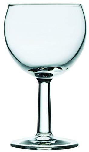 Wasserglas Trinkglas mit Stiel 0,15 l, Gastronomie-Qualität, 12-er Set, 6 Verschiedene Setgrößen erhältlich (6, 12, 18, 24, 30, 36 STK.), Serie Banquet