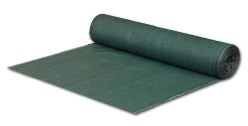 Bradas AS-CO6010050GR Profi Sichtschutz, Schattiergewebe Maße: 1 x 50 m, dunkelgrün, 25 x 30 x 12 cm