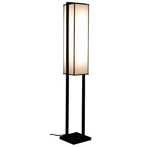 Cspmm lampada da terra, lampada da terra ad arco classica con paralume a sospensione per soggiorno, camera da letto, ufficio den, lounge, potenza: 21w-30w, senza lampadina