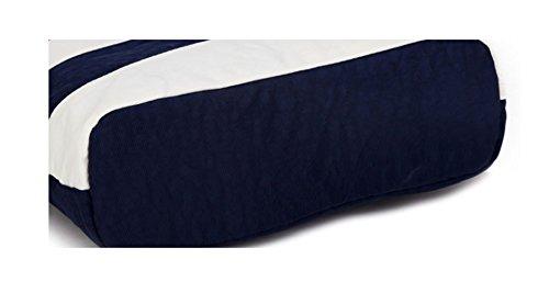 Keshi Nylon Frais - Sac à main femmes - Porté MAIN et EPAULE Blanc Blue
