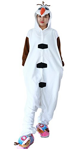 stüm Cartoon Cosplay Winter Jumpsuit Kinder Teenager Mädchen (Niedliche Halloween-teenager-mädchen Kostüme)