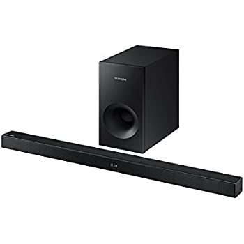 samsung hw k430 mit kabel und ohne kabel 2 1 soundbar lautsprecher 220 w schwarz. Black Bedroom Furniture Sets. Home Design Ideas