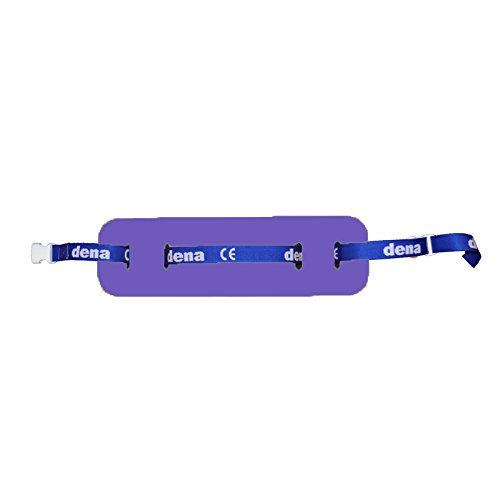Schwimmgürtel Kleinkind Schmal mit Sicherheitsverschluß 100cm 0-4 Jahre verstellbares Gurtband. Auftriebshilfe. NEU&Original (Purple)