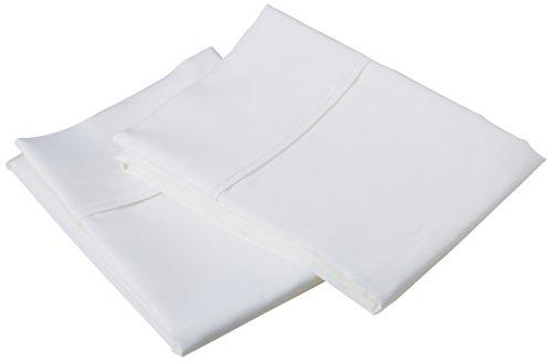 1500Fadenzahl Baumwolle-Mischgewebe Kissenbezüge, Baumwollmischung, weiß, King Size