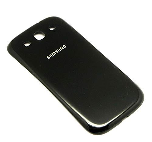 Original Samsung Akkudeckel black / schwarz für Samsung I9301 Galaxy S3 Neo (Akkufachdeckel, Batterieabdeckung, Rückseite, Back-Cover) - GH98-31821E