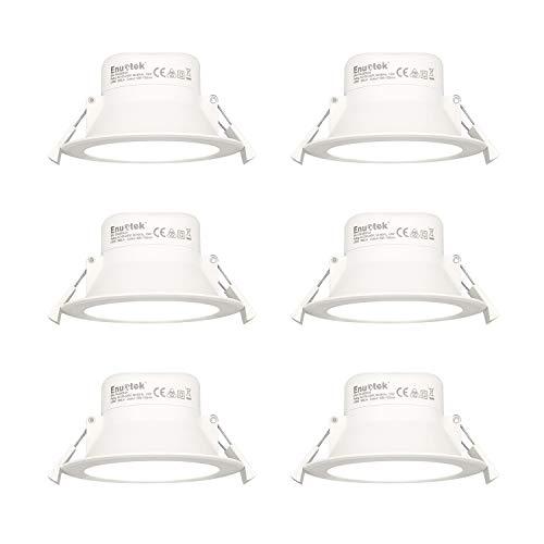 Lamparas Plafones Focos LED Empotrables de Techo Downlights LED 10W Luz Fria...