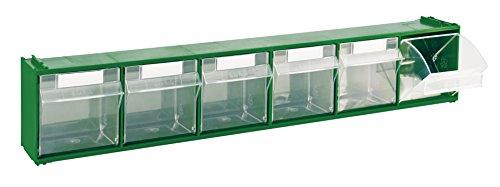 Cassettiera Modello 'Madia' Sovrapponibile, In Plastica Ad Alta Resistenza. Cassetti Trasparenti. Dimensioni: Lxpxh.
