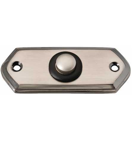 Klingeltaster Gemini Mess-Nickel geschwä 32 x 80 x 6 mm