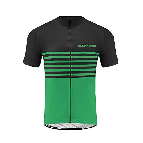 Uglyfrog Radtrikot Herren Kurze Ärmel Fahrradbekleidung Radfahren Set Kleidung Radsport Anzüge