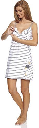 Cornette Damen Nachthemd CR-610/33 Weiß
