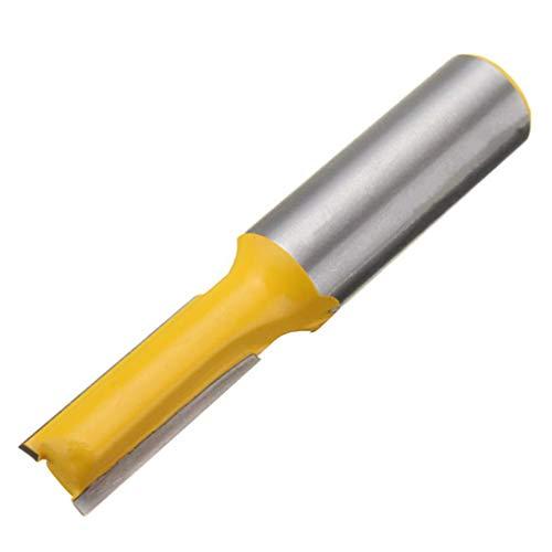Yongse 1/2 Zoll Schaft gerade/Dado Fräser Bit 3/8W x 3/4H gerade Fräser für Holzbearbeitung - Dado Cutter