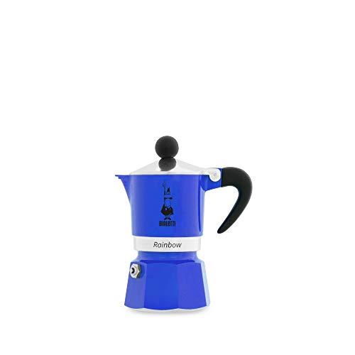 Bialetti 5241 Machine à Expresso pour Tasse, Aluminium, Bleu, 1