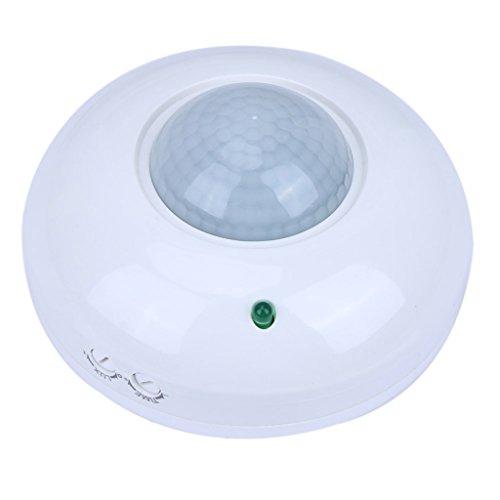 autone Out/Indoor Infrarot-PIR Motion Sensor Switch Licht Control Detektor Deckenleuchte Lampe (Led-belegungs-sensor-licht)
