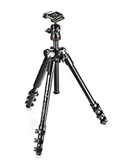 Manfrotto Be Free Aluminium Travel Tripod with Ball Head and Padded Shoulder Bag - Black (B00COLBNTK) | Amazon Products
