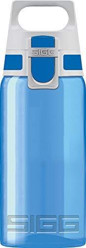 Sigg VIVA, Sport, 0.5 L, Polypropylen, BPA Frei, Trinkflasche, Plastik, blau (one blue)