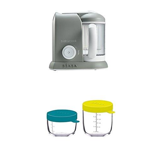 Processeur Alimentaire 4-en-1 Cuiseur Mixeur UK IMPORT - Couleur: Rose /& Or B/éaba BABYCOOK PLUS /Édition Limit/ée.Rose//Gold