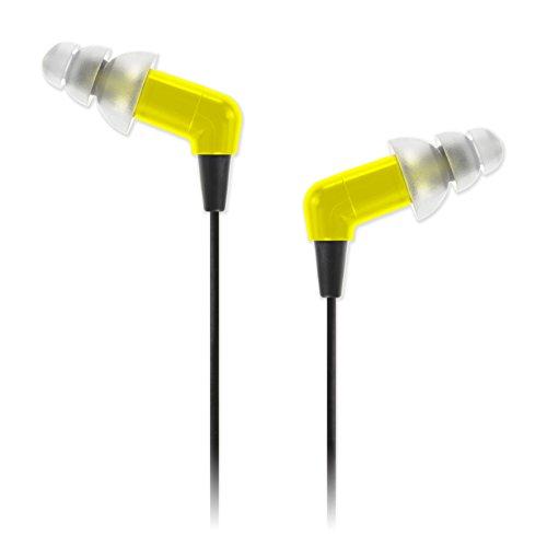 Etymotic ETY-Kids5, geräuschunterdrückender In-Ear-Kopfhörer für Kinder, Gelb