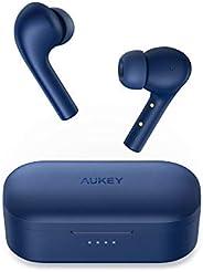 AUKEY Cuffie Bluetooth 5 Auricolari Senza Fili Microfoni Integrati Cuffie In-Ear Controllo Touch 30 Ore di Aut