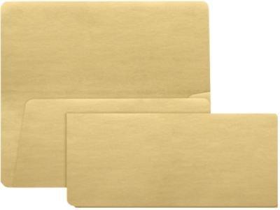 Billete de Avión sobres (37/8x 81/2)-oro metálico (1000unidades.)