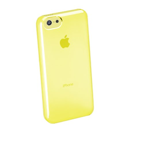 Cellular Line BOOSTIPH5CB Coque pour iPhone 5C Bleu citronier