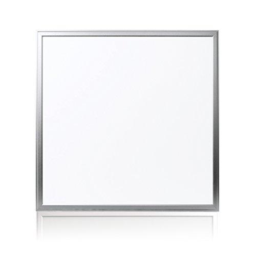 Licht Panel (Auralum® 36W SMD 2835 Ultraslim Dünn Einbau Leuchte LED Panel Deckenleuchte Decken Lampe Licht (60x60cm Weiß))