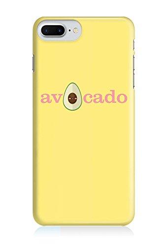 COVER Statement Spruch Schriftzug Avocado gelb Design Handy Hülle Case 3D-Druck Top-Qualität kratzfest Apple iPhone 8 Plus