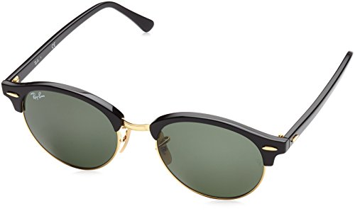 Ray-Ban UV protected Rectangular Unisex Sunglasses - (0RB424690151|51|Green)