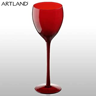 Artland Midnight Goblet Red - Set of 4 Glasses