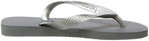 Havaianas Infradito Donna Top Tiras Argento (Steel Grey 5178)