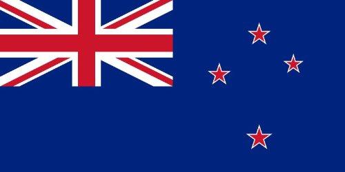 Preisvergleich Produktbild 10, 8 x 5, 4 cm - korrektes Seitenverhältniss - Autoaufkleber Fahne Neuseeland New Zealand Sticker Aufkleber fürs Auto Motorrad handy Laptop