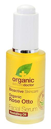 Dr Organic Rose Otto Facial Serum - De Jojoba Aceite