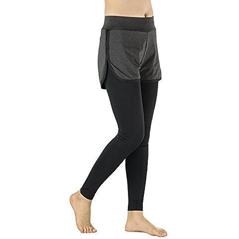 Arsuxeo Donne Corsa Pantaloni Pantaloni exerise Yoga Elastico Pantaloni Leggings, donna, Style 7, EU Size L